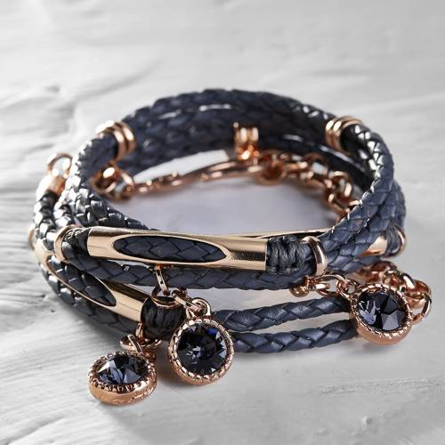 Don't be afraid to experiment!. Leather bracelet