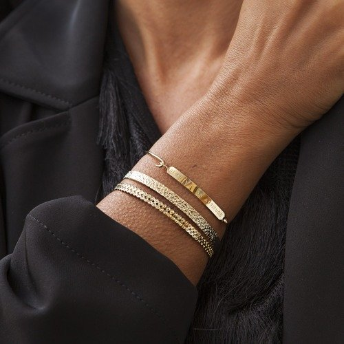 I had a beautiful dream. Cuff bracelet