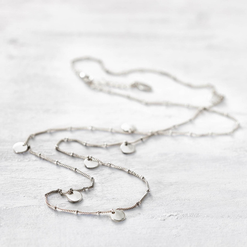 Long necklace. Different approach to boho