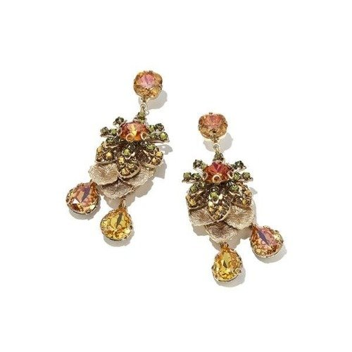Outlet earrings. Inspiring crystals