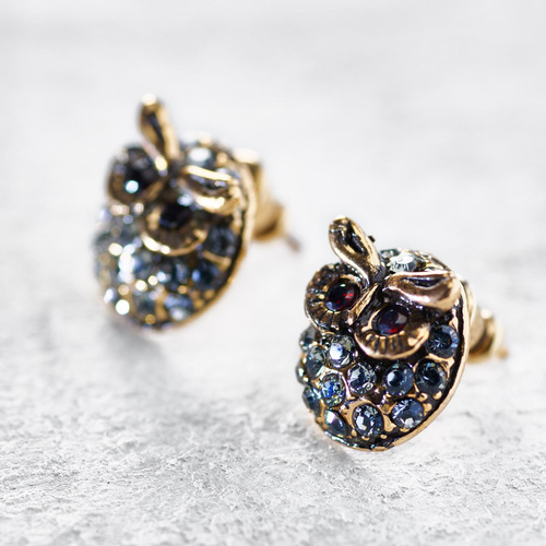 The Owl's Wisdom. Small earrings