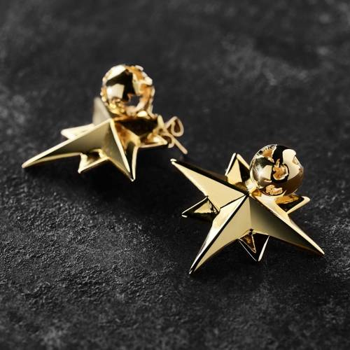 The right direction. Stud earrings